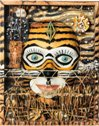 Masque de tigre de Jean-Paul COUCKE